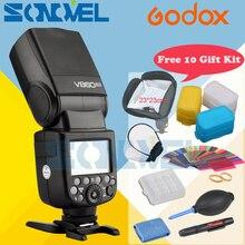 Godox Ving V860II V860II-O S C N TTL HSS 1/8000 li-ion Akku TTL Speedlite Für Olympus Panasonic Sony Canon Nikon