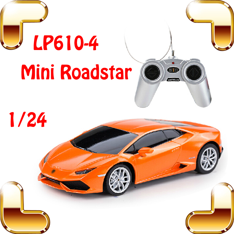 New Coming Gift Rastar 1/24 LP610-4 RC Remote Control Car Vehicle Model Racing Speed Toys For Children Mini Machine Drift