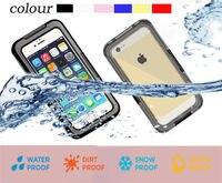 Shockproof Dustproof Waterproof Case Cover For Iphone 6 6s Plus 5 5s SE Underwater Diving Phone