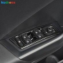 Окна ABS Управление Панель Стекло лифт переключатель рамка Обложка отделка автомобиль для укладки аксессуары LHD для Volkswagen T-РПЦ 2017 -2019