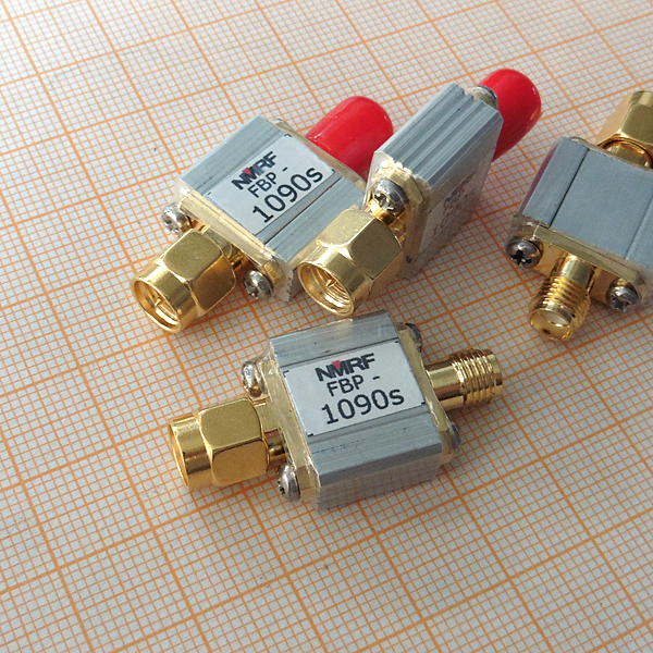 1090MHz ADS-B aviation Band Bandpass SAW filter, SMA interface band filter bandpass filter active