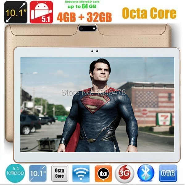 Dhl livre 10 polegada tablet pc octa núcleo 4 gb ram 64 gb rom android 8.0 ips gps 1280x800 5.0mp wcdma gps 3g tablet + presentes