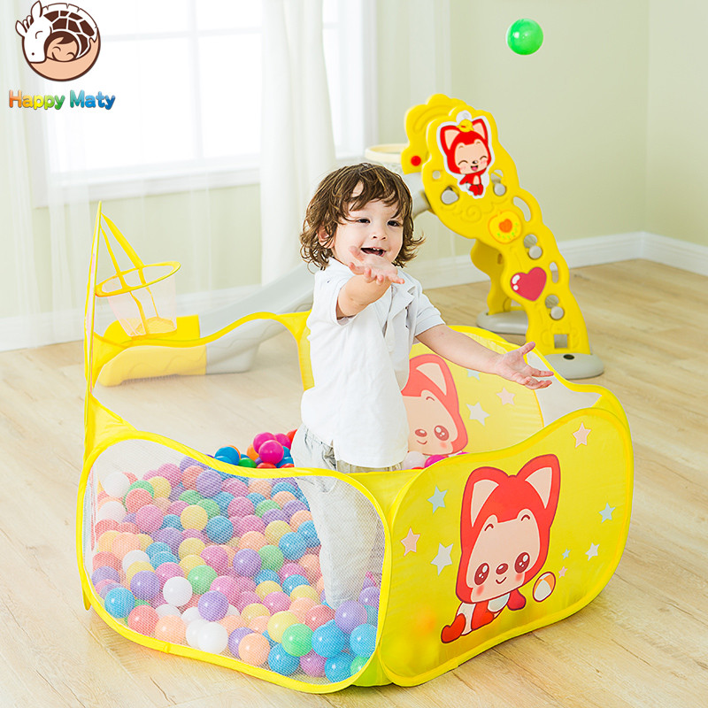 Play House Indoor and Outdoor Easy plegable Ocean Ball Pool Pit Game - Deportes y aire libre - foto 5