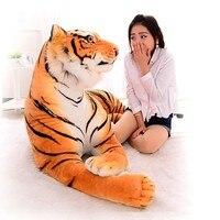 [Смешные] 230 см супер большой Король леса Моделирование большой тигр Мягкие плюшевые игрушки куклы модель диван автомобиля животного Подушк