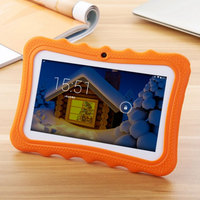 New Arrival 7 Inch Kids Tablet With Protective Case Quad Core 1GB 16GB ROM Wifi Suitable
