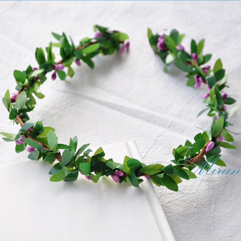 10 Pcs Wholesales Handmade Rustic Violet Colors Pip Berries Green