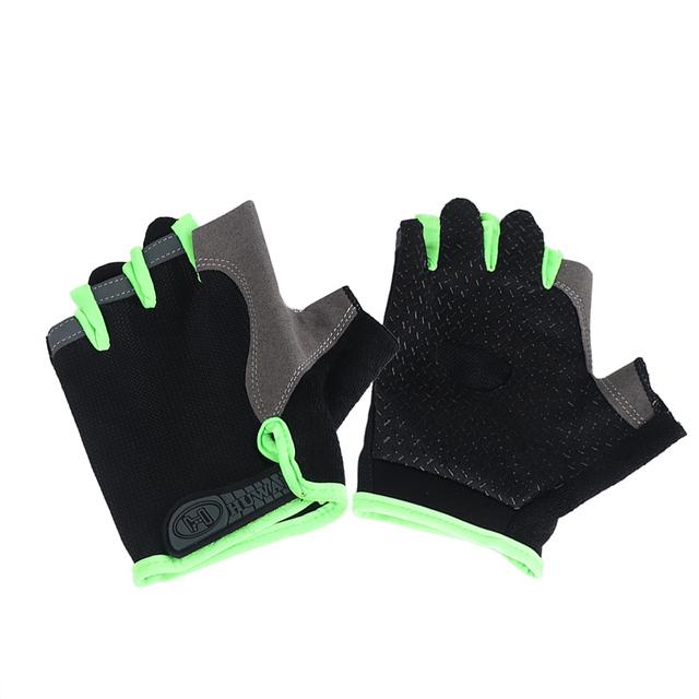 Men Fingerless Gloves Non-slip Sport Mittens Cycling Gloves Fishing Bicycle Motorcross Combat Knuckle Half Finger Gloves