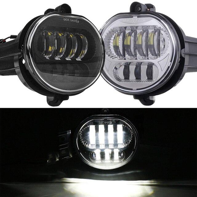 2pcs 63w Car Lights Fog Lamp For 2002 2008 Dodge Ram 1500 2500 3500 2004 2006 Durango Pickup Truck Led Pair