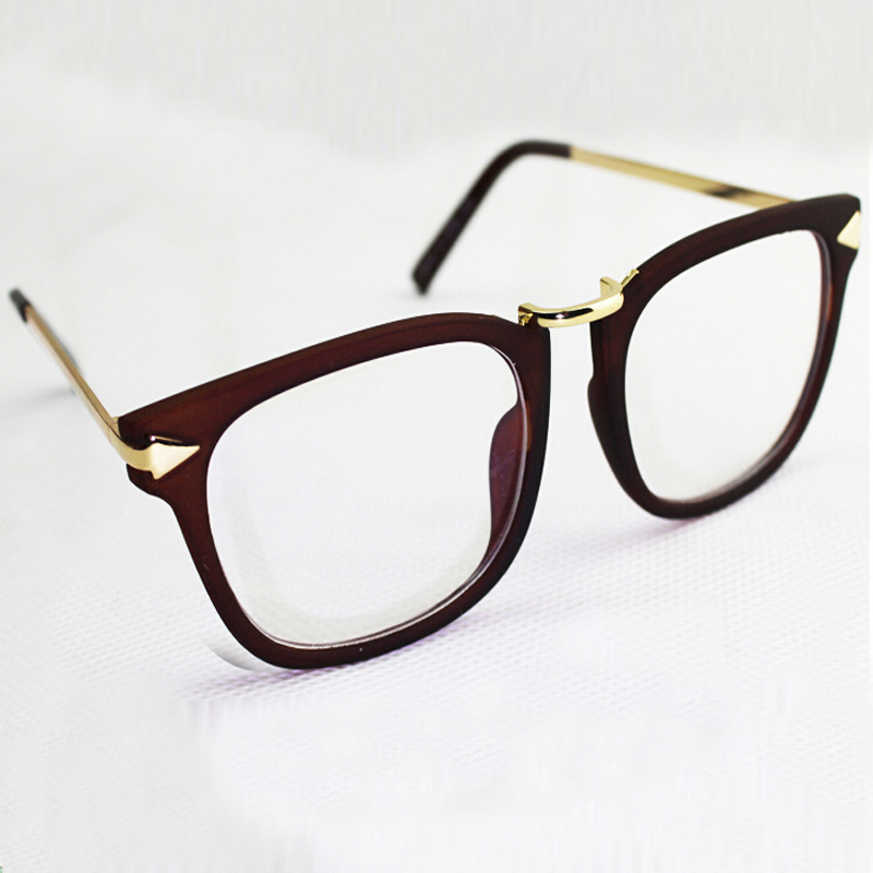 Large Frame Ladies Reading Glasses : Free shipping 2016 big arrow metal frame womens optic ...