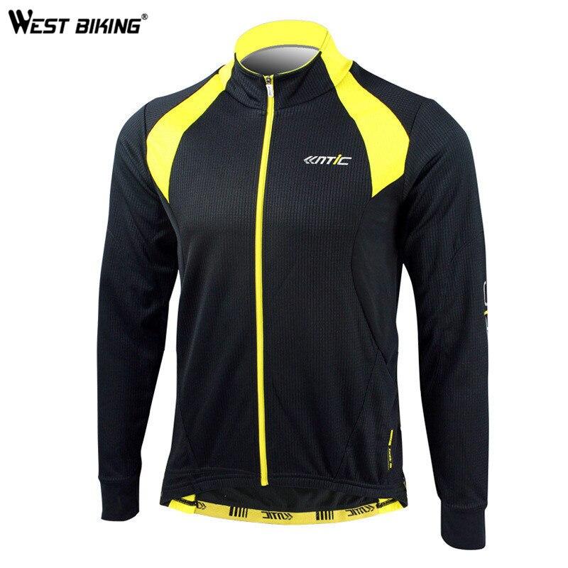 Ouest vélo hiver cyclisme vêtements coupe-vent polaire thermique Ropa Ciclismo Sport veste randonnée vélo vélo cyclisme Jersey