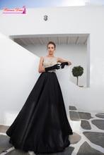 Sexy Sheer Top Langes Abendkleid Abendkleider Mit Perlen Maß Robe De Soiree Billig Abendkleid 2015 Vestido Longo