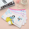 1pcs 2-10T new fashion children panties girls' cartoon briefs female child underwear lovely cartoon panties children clothing