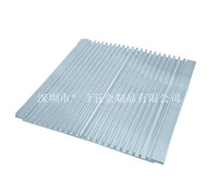 Free Ship Ultra Thin LED Lamp Aluminum Heatsink Electronic Radiator 158 7 150MM Aluminum Heat Sink