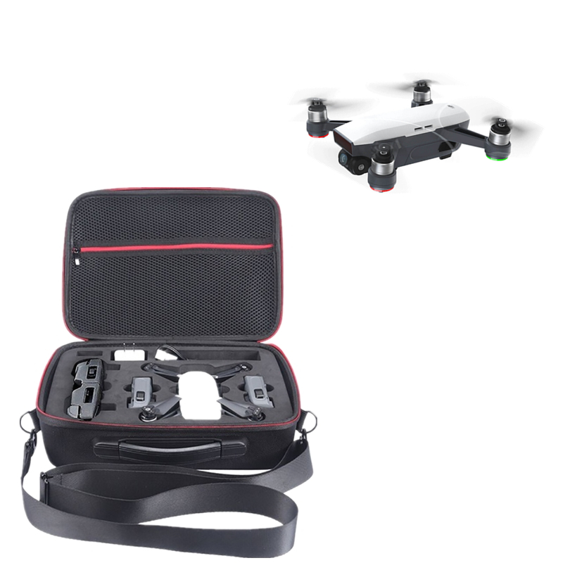 DJI Portable Hard Shell Storage Handbag EVA Lining Waterproof Carrying Bag Suitcase Box Case Large Capacity for DJI Spark Drone