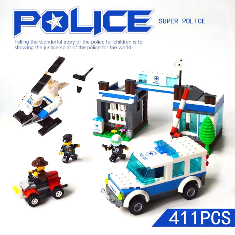 Boys Toys 6 Years Comaptible With LEGO Bricks Set The Super Police VS Criminals Plastic Building Blocks Kids Toys Educational henri matisse drawing with scissors masterpieces from the late years