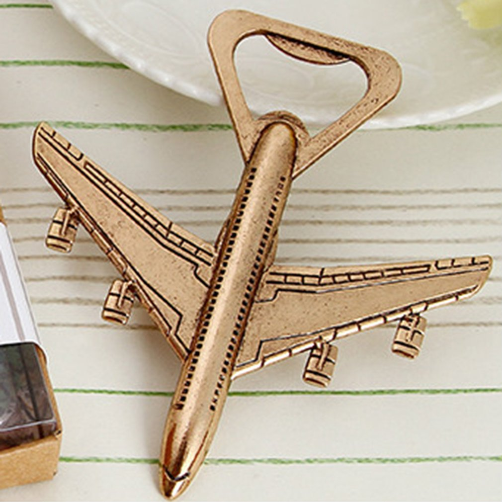 Antique Airplane Bottle Opener Airplane Shape Beer Opener Wedding Gift Party