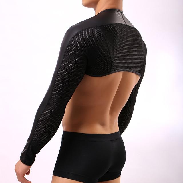Sexy nylon tops