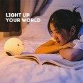 2016 Elf Inteligente Luces de Noche Lámpara de La Mesita Cubierta para Niño/Regalo del Amigo Ambiente RGB Luces de Control Táctil Bluetooth para teléfono