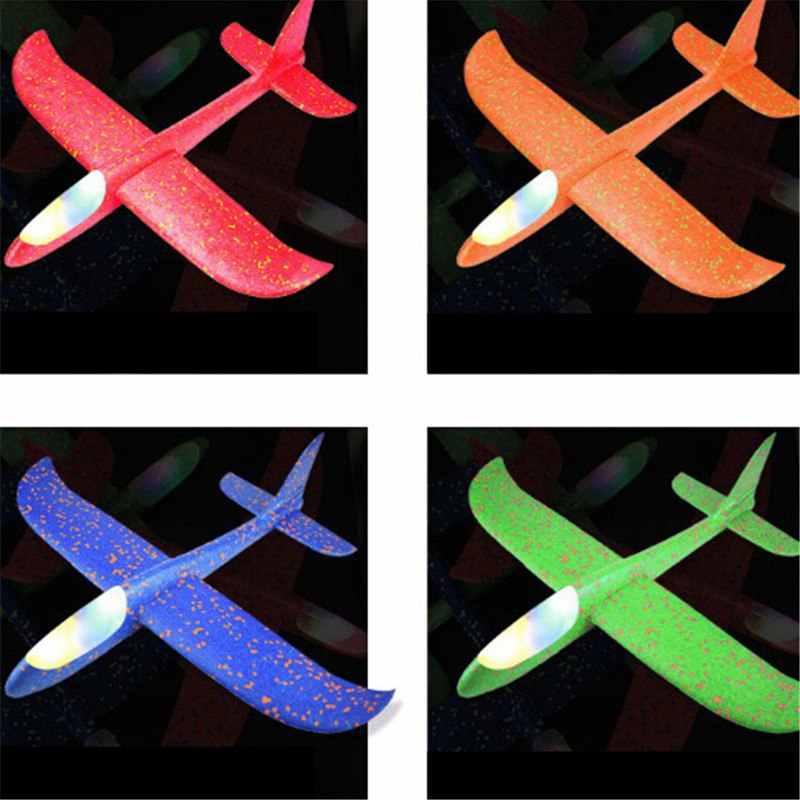 2018 детские игрушки «сделай сам» ручной бросок Летающий планер самолеты пена модель аэроплана вечерние сумки наполнители Летающий планер самолет игрушки для детской игры