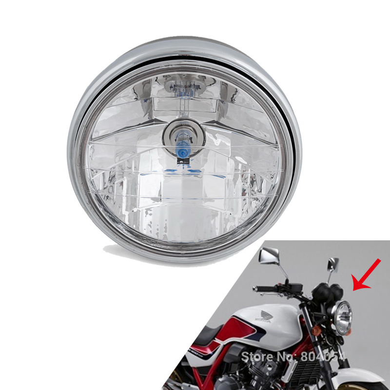 Front Headlight Headlamp Light Assy For KAWASAKI ZRX1200 ZRX1100 ZRX400 ZEPHYR 1100 750 550 ZR7 ZR750 ZR550 For DUCATI MONSTER