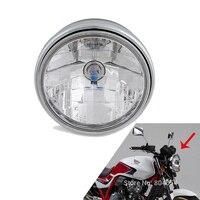 Front Headlight Headlamp Light Assy For KAWASAKI ZRX1200 ZRX1100 ZRX400 ZEPHYR 1100 750 550 ZR7 ZR750 ZR550 For DUCATI MONSTER