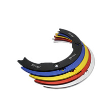 Motorcycle Decorative Cover Transmission Belt Pulley Adornment Cover Wheel Cover For Yamaha T-MAX 530 2017 TMAX530 SX TMAX DX цена