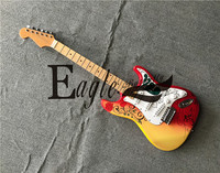 Eagle. Butterfly electric guitar, bass custom shopFlower Children 21 Left handed ST Electric Guitar Handmade Old Hand made, Spot