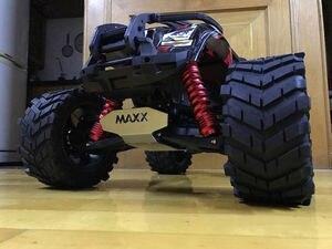 Image 5 - Rodas À Prova D Água resistente ao desgaste Do Pneu do caminhão do RC Monstro para TRAXXAS X MAXX X MAXX