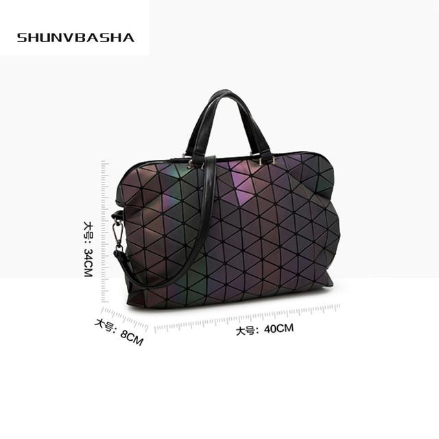 Bao Bao Obag Handles Laser Luminous Bag Sequins Saser Bolsas Victor Hugo Kors Handbag Shoulder Crossbody Bags For Women Tote Bag