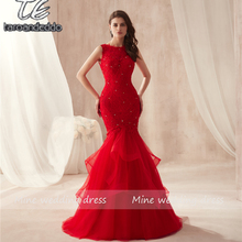 taroandeddo Mermaid Prom Dress Trumpet Evening Dress