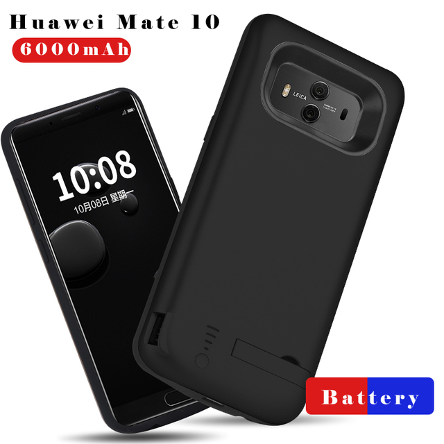 superior quality 9586e 2a59b US $30.0 |6000mAh Battery Case For Huawei Mate 10 Ultra Thin Backup Charger  Cover For Huawei Mate 10 Power Bank Case Capa Fundas-in Battery Charger ...