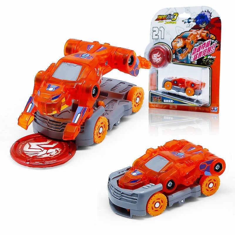 أحدث انفجار سرعة الصرخات البرية تشوه سيارة عمل أرقام متعددة رقاقة التقاط رقاقة 360 ° الوجه التحول سيارات لعبة