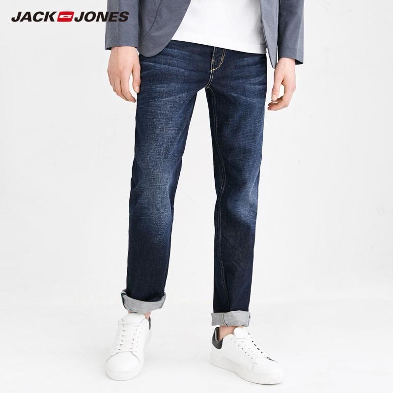 JackJones Men's Whiskers Stretch Cotton Slim Fit   Jeans   J 218132560
