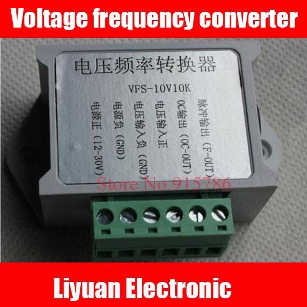 Преобразователь частоты для гравировального Станка/преобразователь напряжения в частоту от 0-10 В до 0-10 кГц