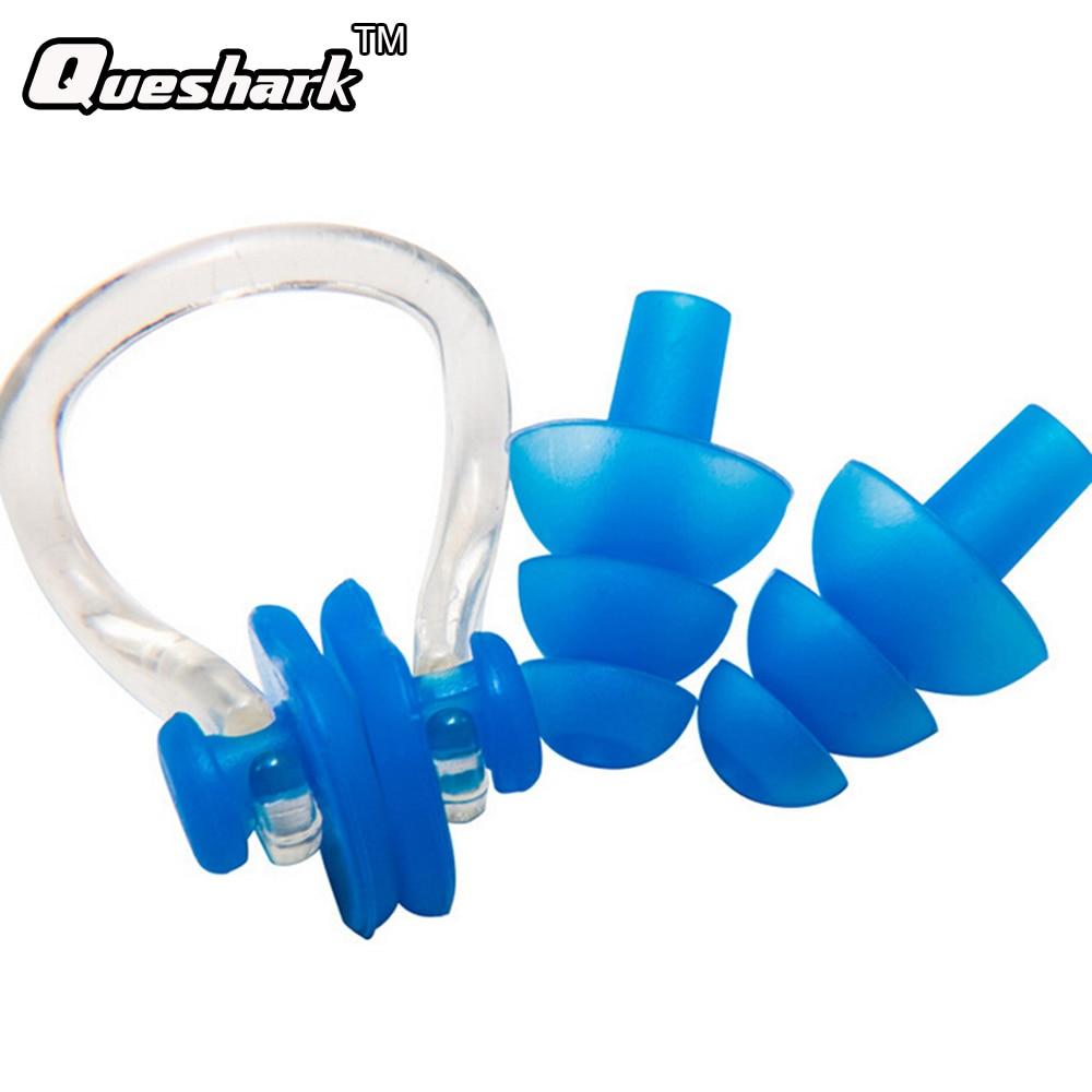 Soft Silicone Waterproof Swimming Earplugs Professional Swim Earplugs Adult Swimmer Children Diving Soft Anti-Noise Ear plug
