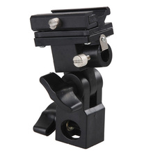 Adapter Bracket Umbrella-Holder Light-Stand Tripod Flash Swivel 1pc B-Type Hot