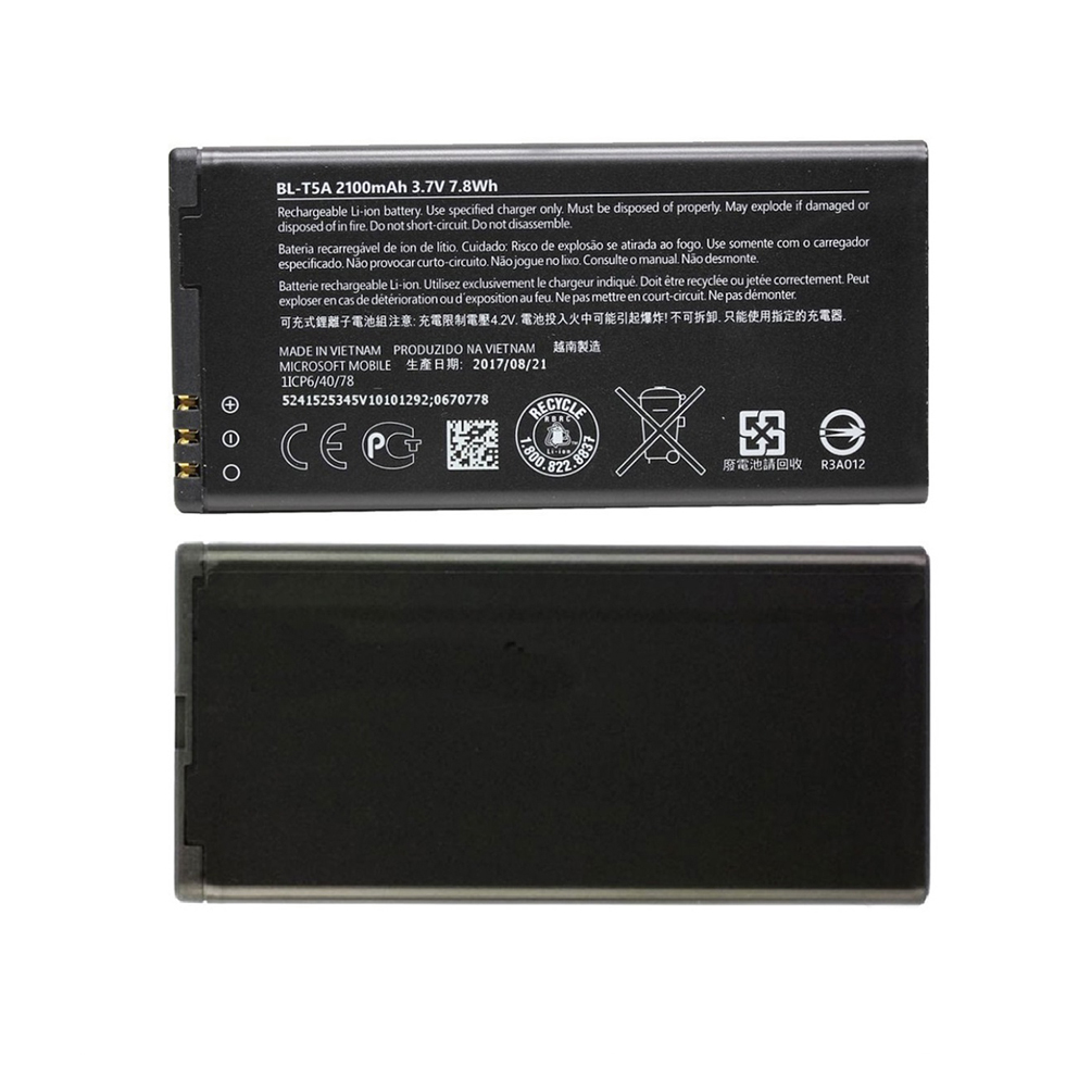 Original High Capacity BL-T5A phone battery for Nokia Microsoft Lumia 550 Lumia550 2100mAh