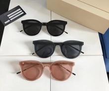 Acetate Polarized Sunglasses Men High Quality Fashion Vintage Retro Round Sun Glasses for Women Brand Design GENTLE Sunglass