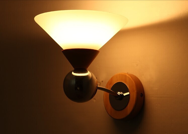 led mood modern wall wall lamp with 1 light for. Black Bedroom Furniture Sets. Home Design Ideas