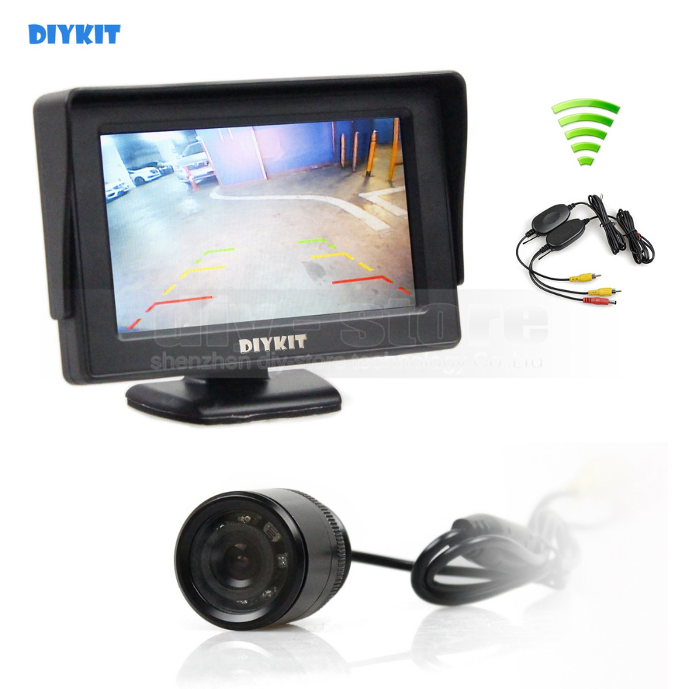 Fantastic 4 3 Wireless Backup Camera System Ensign - Electrical ...
