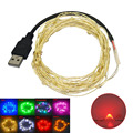 JIAWEN USB 5M Waterproof Flexible 3W 240lm 50-0603 SMD LED String Light (DC 12V)