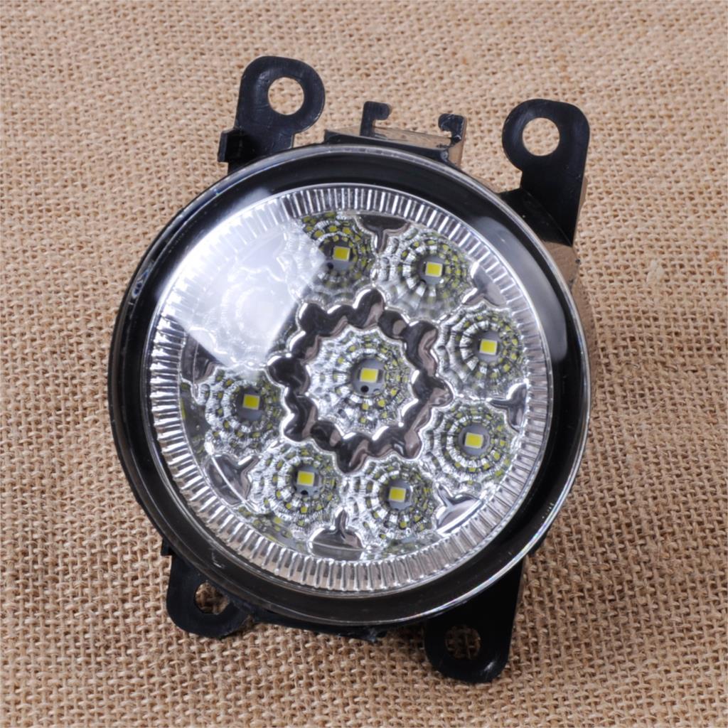DWCX 2x55 W 9-LED Putaran Depan Kanan / Kiri Fog Lamp DRL Daytime - Lampu mobil - Foto 3