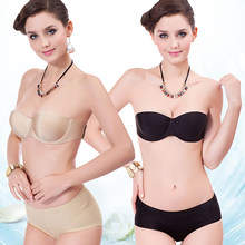 cb0f09def8b4c New Arrival Women s Sexy Bra One-Piece Strapless Tape Fashion Invisible  Seamless Brassiere(China