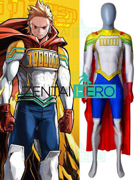 950458196 3D Printed bnha All Might My Hero Academia Cosplay Costume Boku no Hero  Academia Lemillion Mirio Togata Men Lycra Suit Only Suit