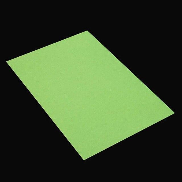 أداة صنع الحرفية Polymer بها بنفسك بوليمر يموت الصلبة للذوبان في الماء أجزاء المنزل سهلة الاستخدام ختم ورقة الراتنج 20x30 سنتيمتر photopأوليمير لوحة