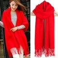 Cachecol de inverno Melhor Qualidade Imitação Cashmere Cobertor Envoltório Do Lenço Echarpe Cape Sólida Feminino Mulheres Moda Inverno Homem Grosso 329