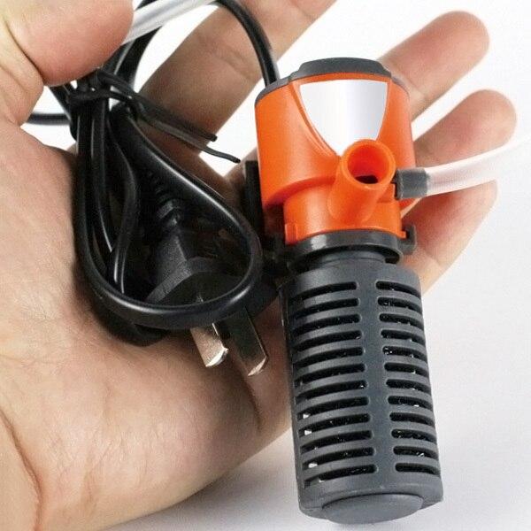 Mini 3 in 1 Multi-function Aquarium Purifier Water Quality Tank Filter