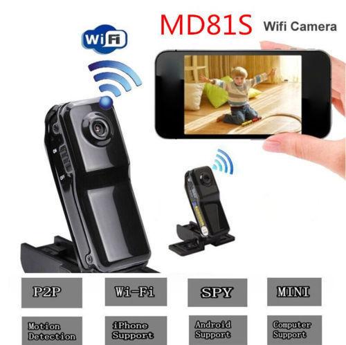 WiFi Camera DV Wireless IP Camera HD Micro Mini camcorders Cam MD81SWiFi Camera DV Wireless IP Camera HD Micro Mini camcorders Cam MD81S