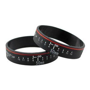 Image 2 - Bracelet de bande de photographe de Bracelet dobjectif dappareil Photo de Silicone pour des accessoires de Studio de Photo dappareil Photo de Canon
