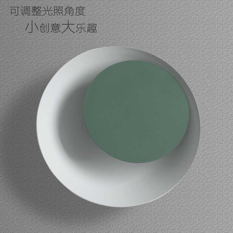 Светодиодный настенный светильник 5 Вт AC 85-240 В современная спальня настенные светильники для помещений столовая коридор освещение алюминий